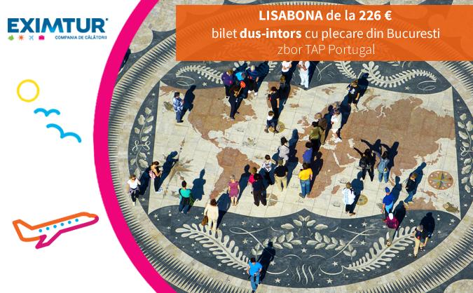 Cere oferta pentru bilete de avion la Lisabona!