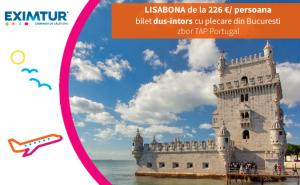 Oferte bilete de avion la Lisabona de Valetine's Day