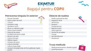 Lista de bagaje pentru vacante exotice copii