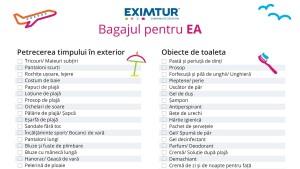 Lista de bagaje pentru vacante exotice ea