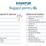 Lista de bagaje pentru vacante exotice el