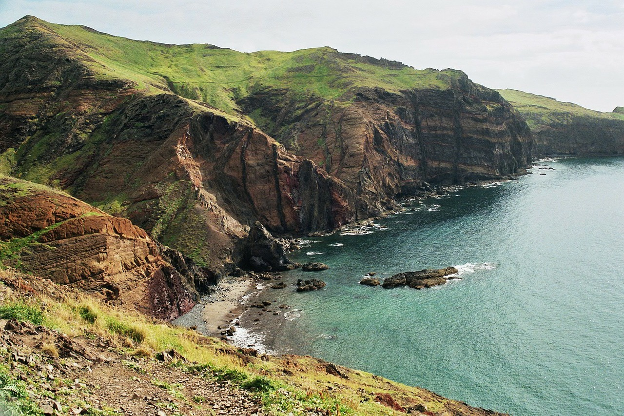 Madeira munte si plaja