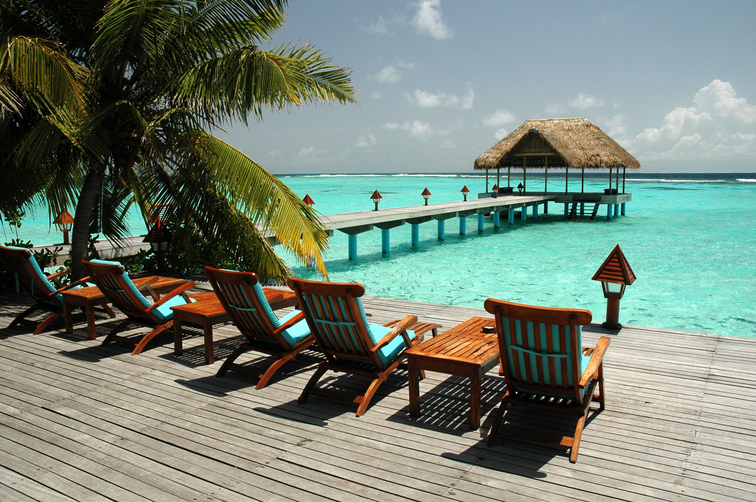 Terasa in Maldive