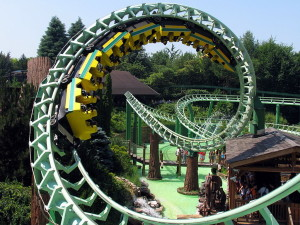 Roller coaster-ul Magic Mountain, Gardaland, Italia