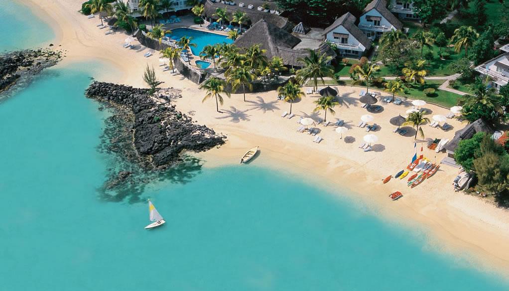 Hotelul Merville Beach in Mauritius