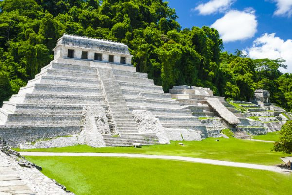 Palenque vacanta in Mexic