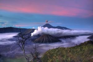 Vulcanii Bromo, Batok si Semeru din Java