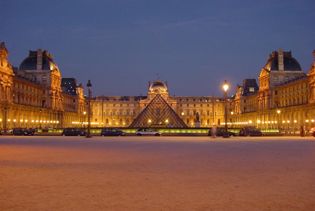 Muzeul Luvru, Paris, Franta
