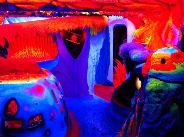 Muzeul de arta fluorescenta electric ladyland, Amsterdam, Olanda