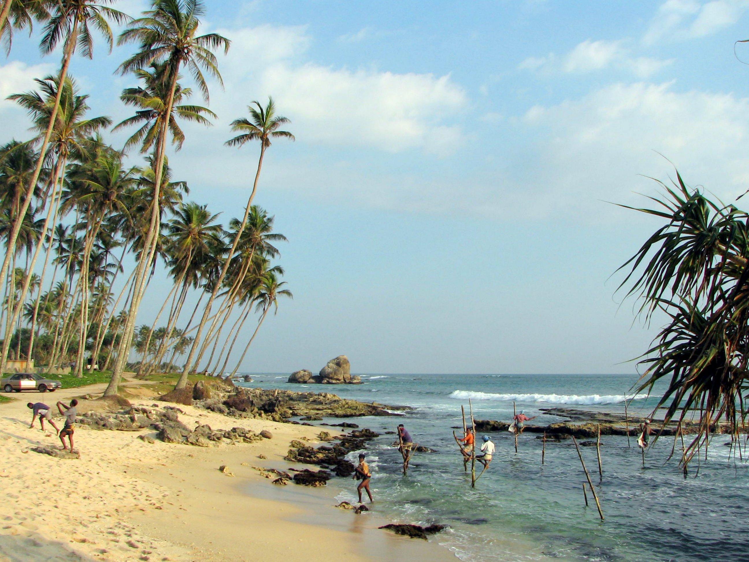 Pescari din Sri Lanka