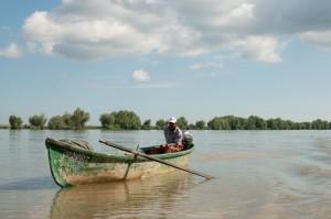 Pescuind in delta dunarii
