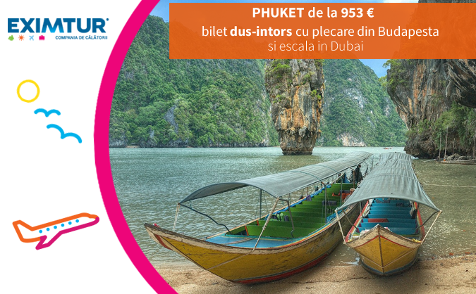 Oferta bilete de avion in Phuket, Thailanda