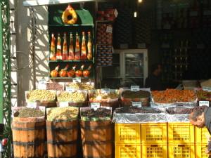 Piata in Tunisia