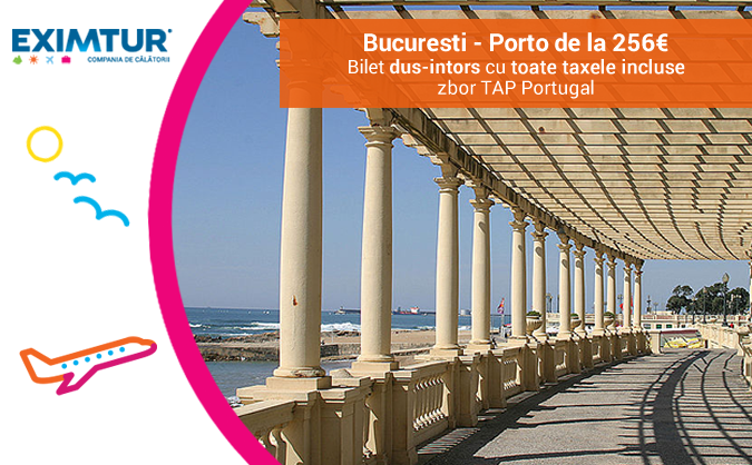 Bilete de avion Porto Portugalia