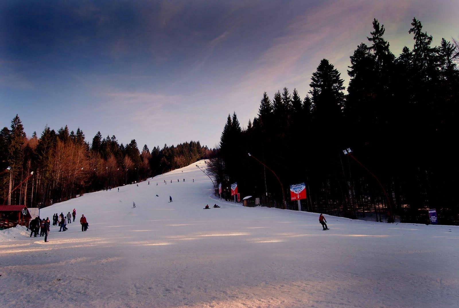 Partie de ski in Predeal
