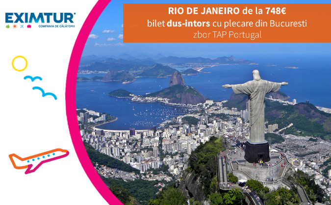 Oferte bilete de avion Rio de Janeiro, Brazilia
