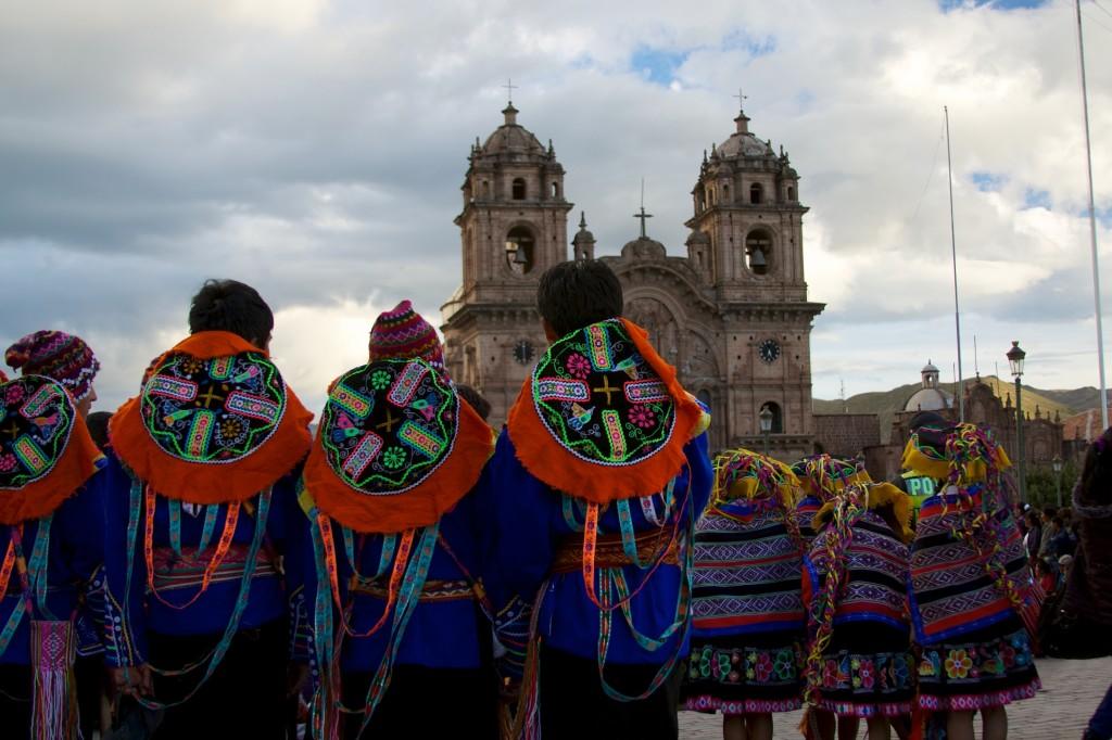 Sarbatoarea traditionala a dansului traditional din Anzi, Cusco, Peru