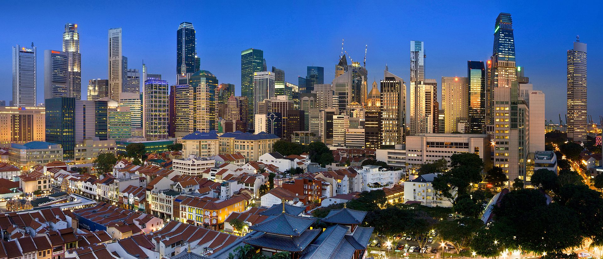 Singapore la apus