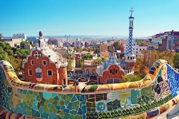 Park Guell - Barcelona, Spania