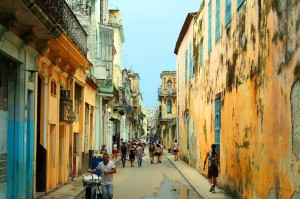 Strazile din Havana, Cuba