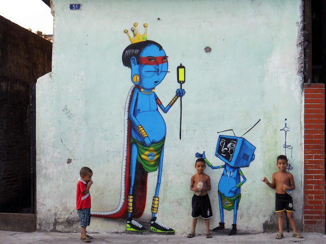Street art in Sao Paulo, Brazilia