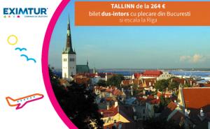 Oferte bilete de avion Tallinn, Estonia