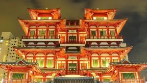 Templul Dintele lui Buddha, Singapore