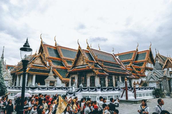 Grand Palace din Bangkok