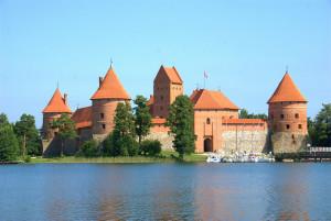 Castelul Trakai din Lituania