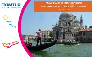 Oferte bilete de avion la Venetia de Valetine's Day