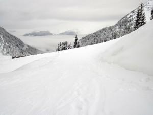 Zapada in Alpi