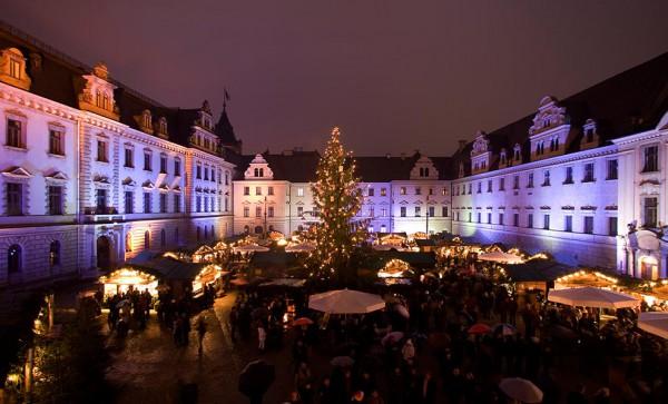 piata de Craciun din Regensburg