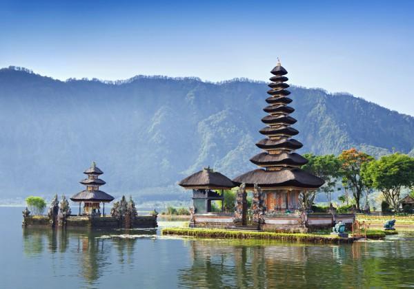Zona Bedugul din Bali
