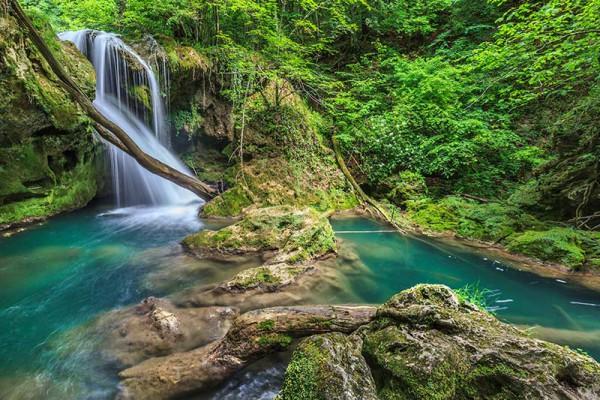 Cascada Vaioaga Cheile Nerei Romania