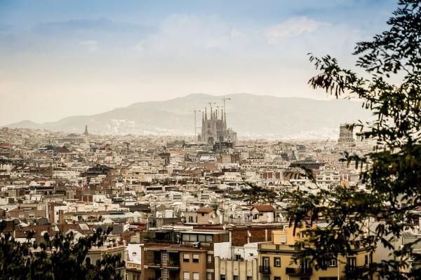 panorama asupra Barcelonei