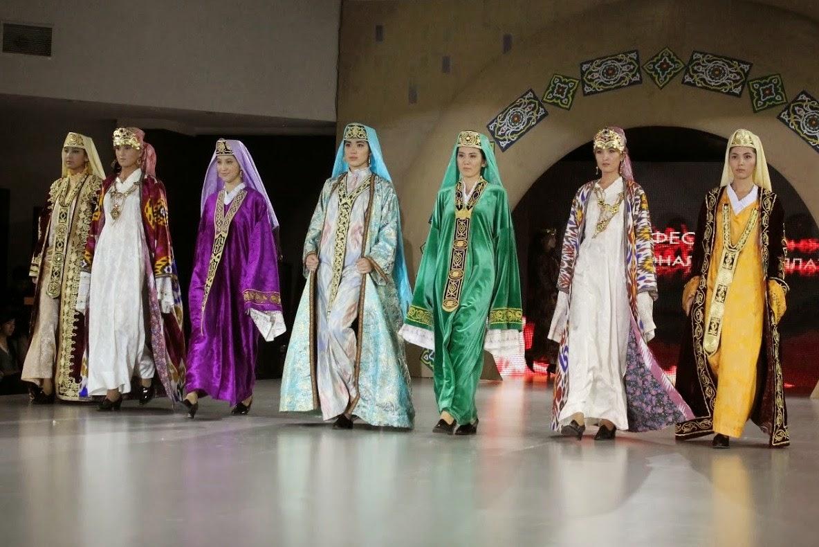 costum popular uzbekistan
