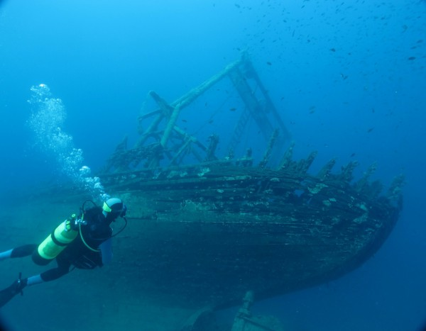 Scufundari in mare