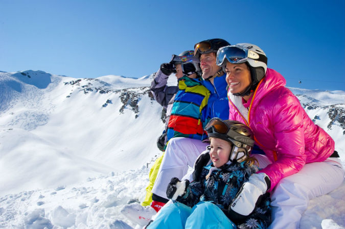 familie la ski