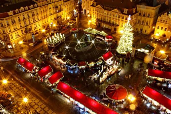 Targ de Craciun Praga