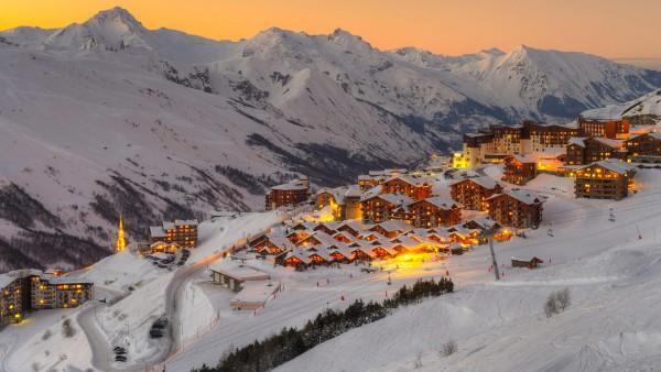 ski in Les Menuires