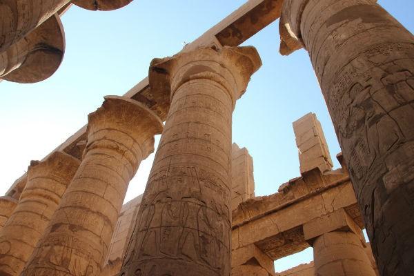 templul loxor - vacanta Egipt