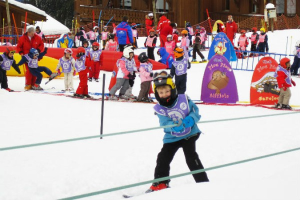 partie de ski pentru copii