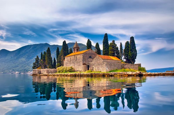 Peisaj din Perast- Muntenegru