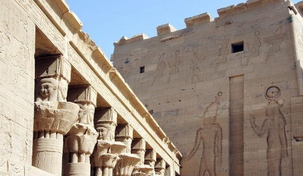 Insula philae - vacanta Egipt