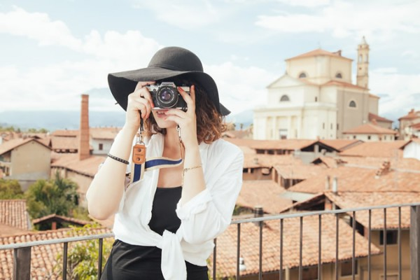 Fotograf in vacanta