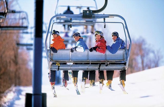 prieteni la ski