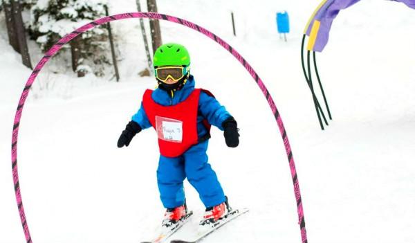 copil schi pe partie incepatori