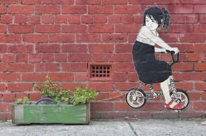 Arta stradala in Melbourne, Australia