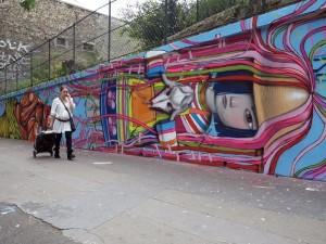 Arta stradala in Paris, Franta