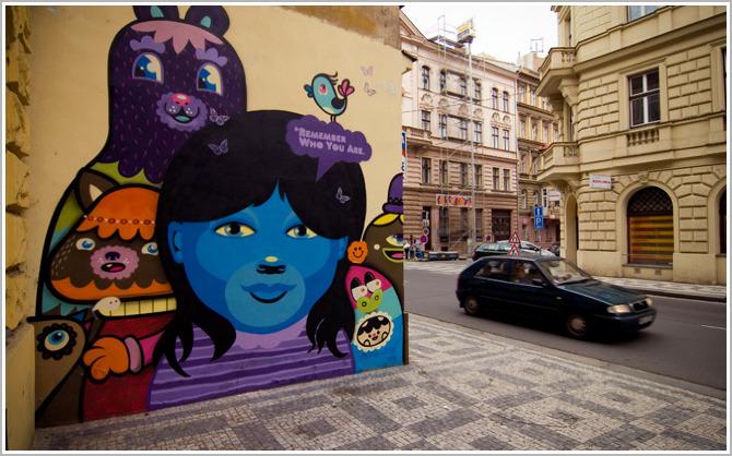 Arta stradala in Praga, Cehia